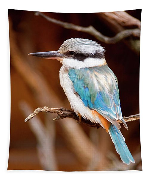 Sacred Kingfisher Tapestry