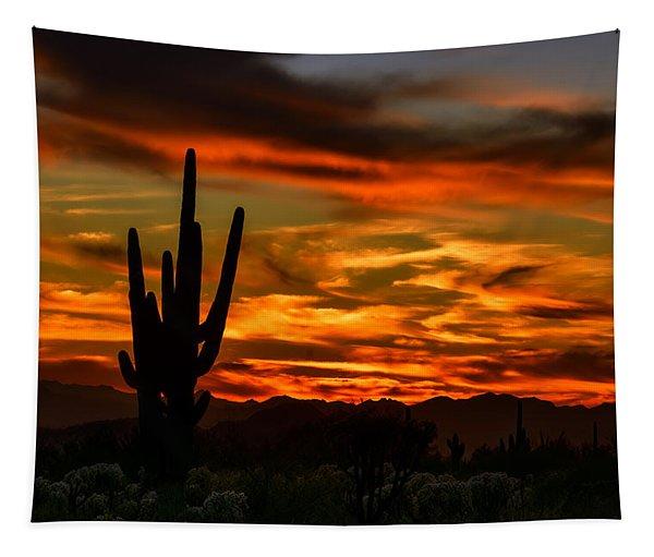Saguaro Sunset H51 Tapestry