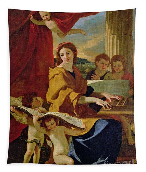 Saint Cecilia Tapestry