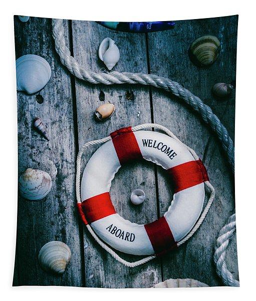 Sea Of Turbulence Tapestry