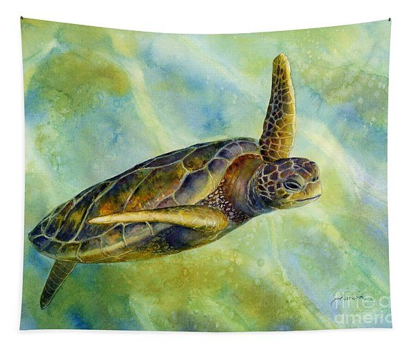 Sea Turtle 2 Tapestry