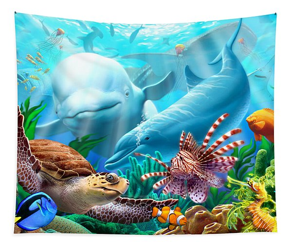 Seavilians 1 Tapestry