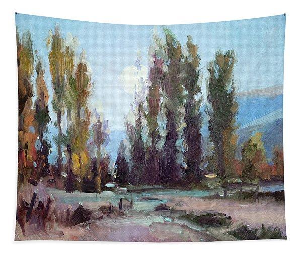 September Moon Tapestry