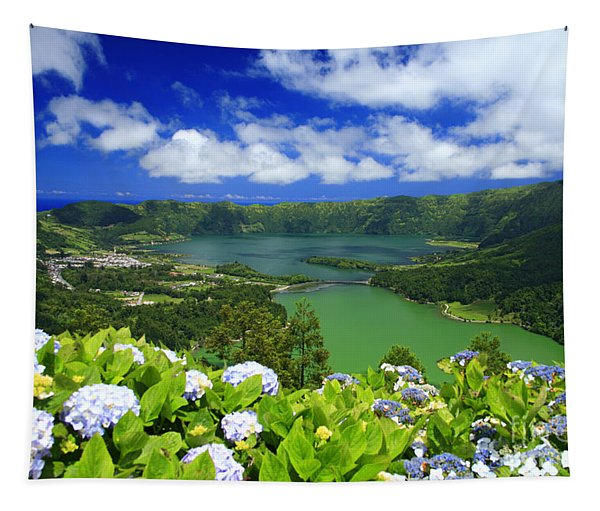 Sete Cidades Crater Tapestry