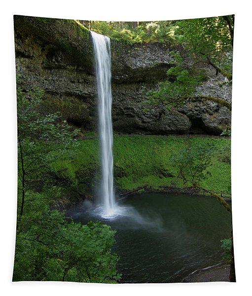 Silver Falls Silver Mist Tapestry