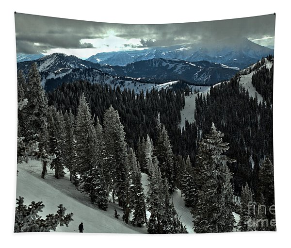 Skiing From Great Western Tapestry
