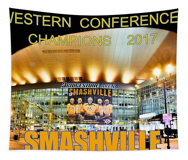 Smashville Western Conference Champions 2017 Tapestry