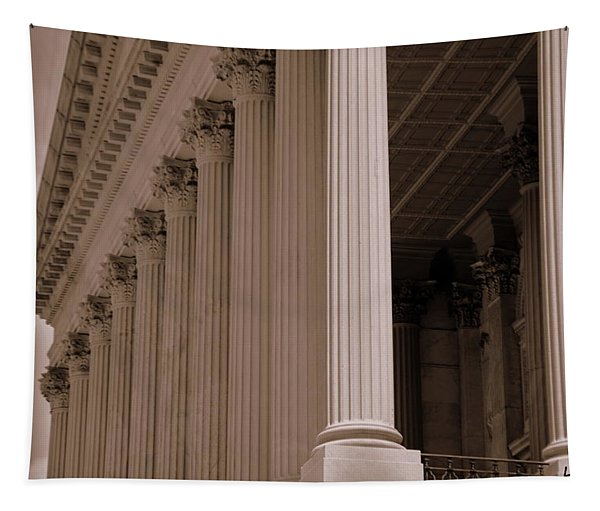 South Carolina State House Columns  Tapestry