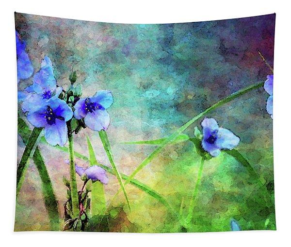 Spiderwort Dance 0115 Idp_2 Tapestry