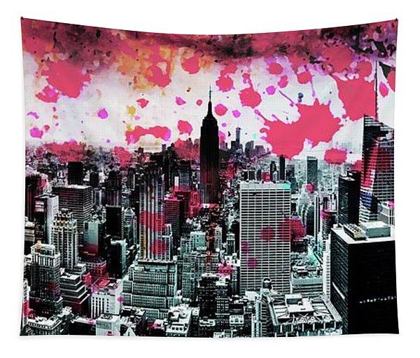 Splatter Pop Tapestry