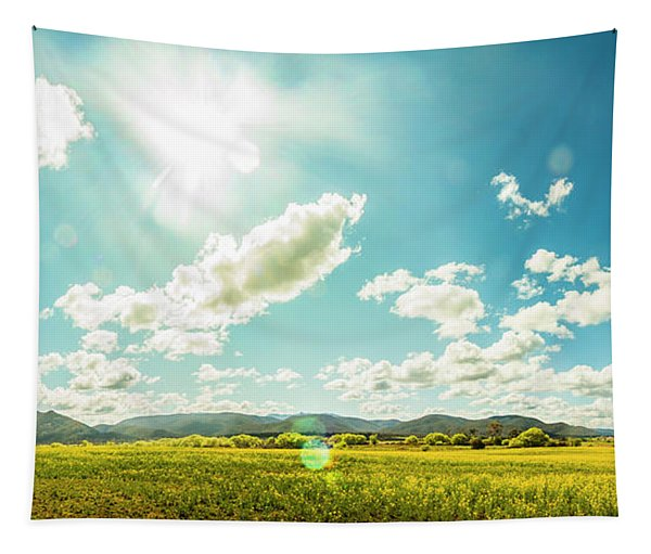 Spring Country Tapestry