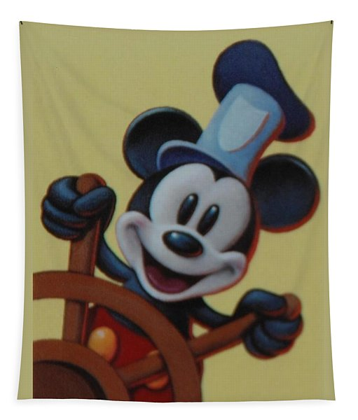 Steamboat Willy Tapestry