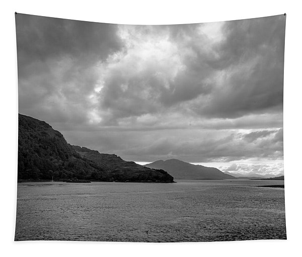 Storm On The Isle Of Skye, Scotland Tapestry