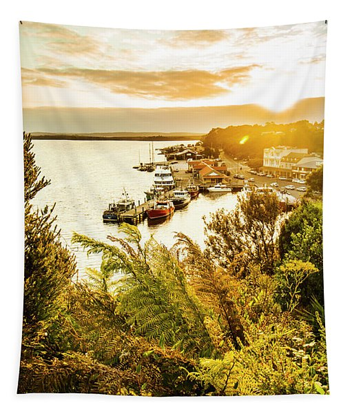 Strahan Sunset Tapestry