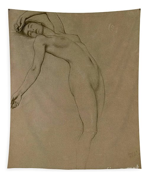 Study For Clyties Of The Mist Tapestry