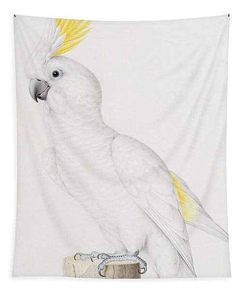 Sulphur Crested Cockatoo Tapestry