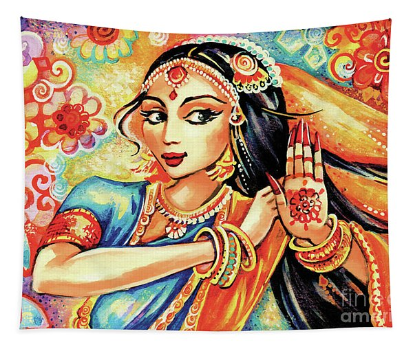 Sun Ray Dance Tapestry