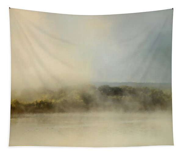 Sunrise Through The Fog Tapestry