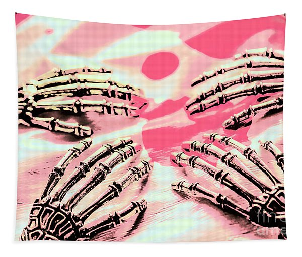 The Arms Of Automation Tapestry