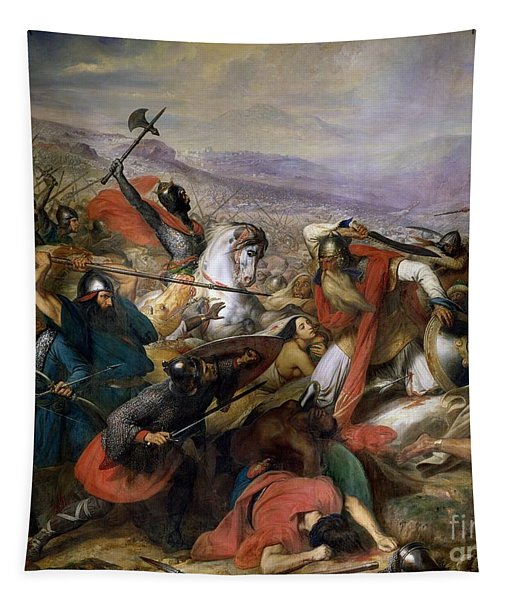 The Battle Of Poitiers Tapestry