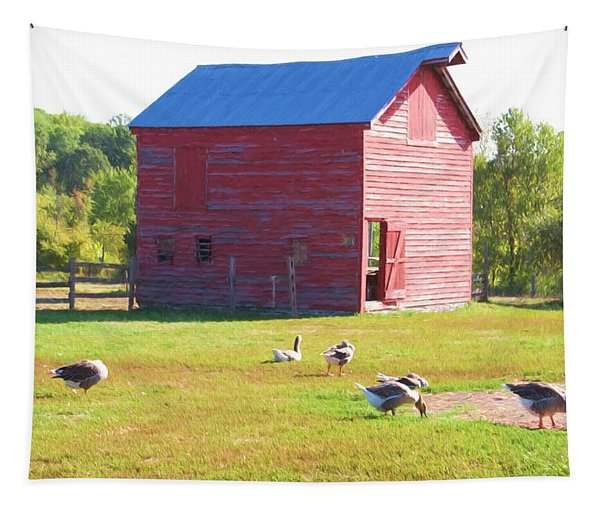 The Geese Are Out Tapestry