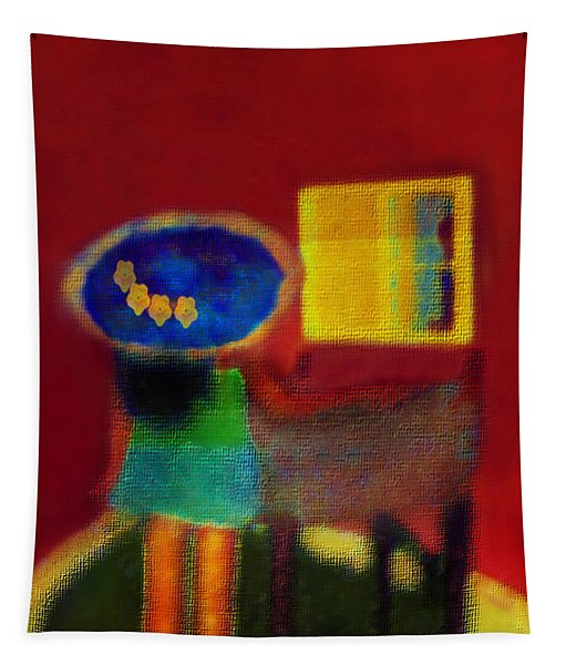 The Girl In The Mirror 2 Tapestry