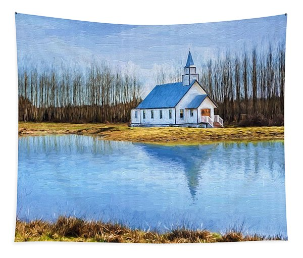 The Heart Of It All - Landscape Art Tapestry