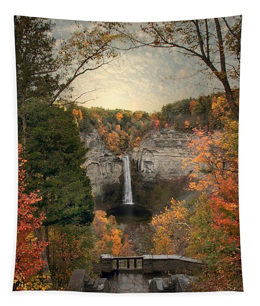 The Heart Of Taughannock Tapestry