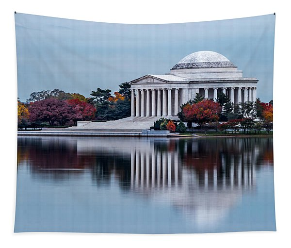 The Jefferson In Baby Blue Tapestry