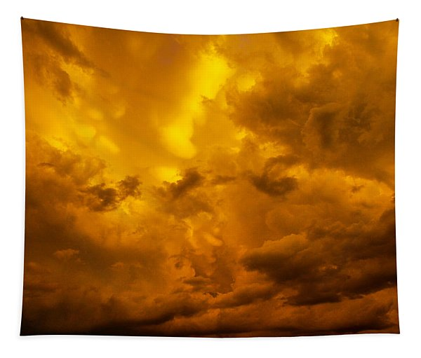 Tapestry featuring the photograph The Last Glow Of The Day 008 by NebraskaSC