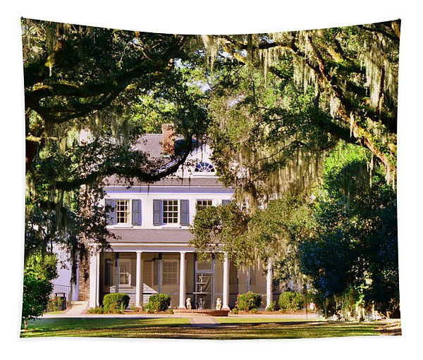 The Legare-waring House At Charles Town Landing Tapestry