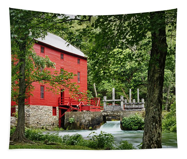 The Mill At Alley Spring Tapestry