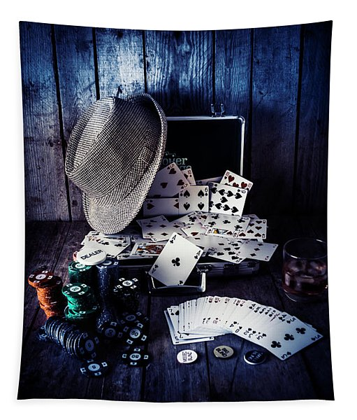 The Poker Ace Tapestry