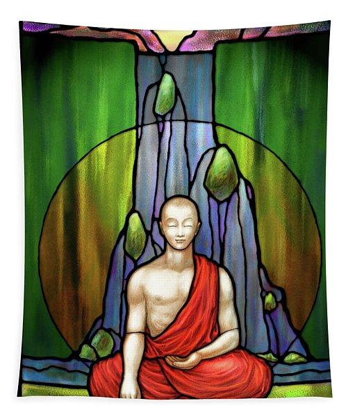 The Praying Monk Tapestry
