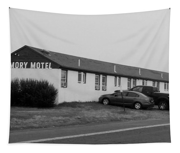 The Rolling Stones' Memory Motel Montauk New York Tapestry