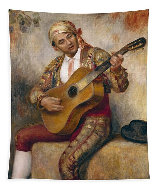 The Spanish Guitarist Tapestry