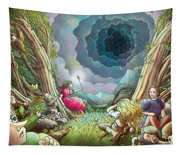 The Wave Of Space And Time Tapestry