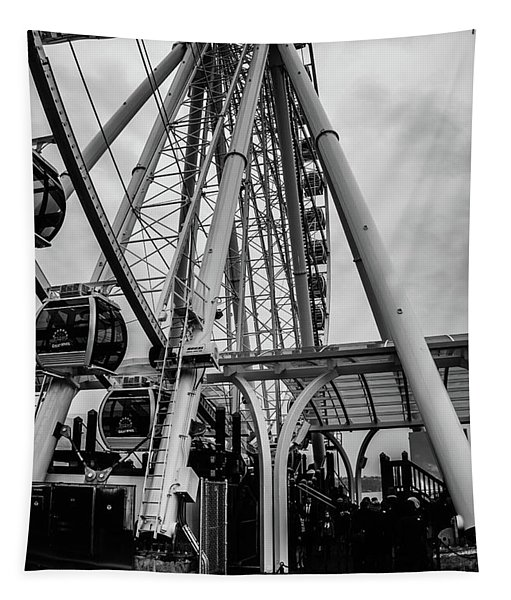 The Wheel Seattle  Tapestry