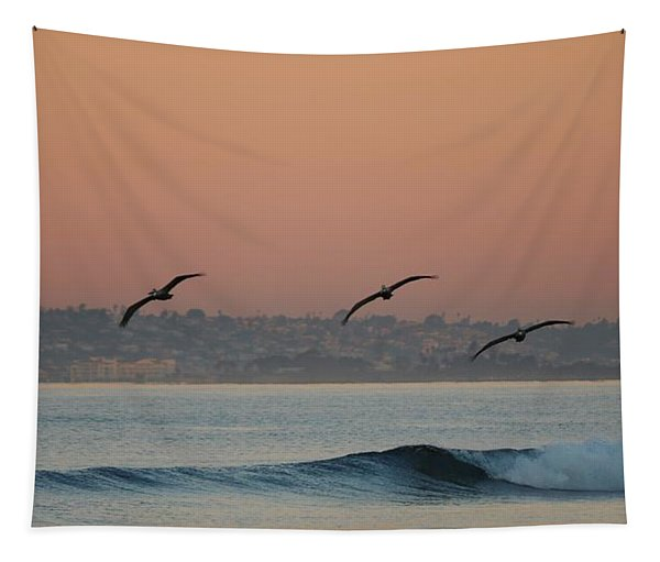 Tapestry featuring the photograph Three Pack  by Christy Pooschke