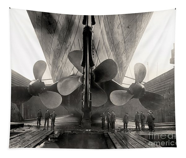 Titanic's Propellers  Tapestry
