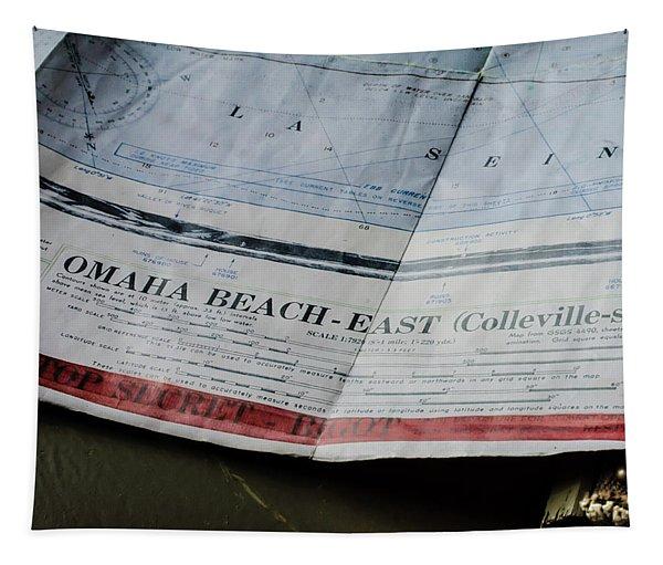 Top Secret - Omaha Beach Tapestry