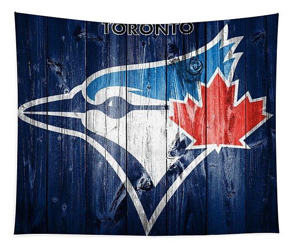 Toronto Blue Jays Barn Door Tapestry