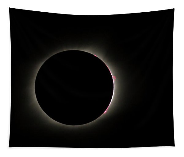Total Eclipse Solar Flares Tapestry