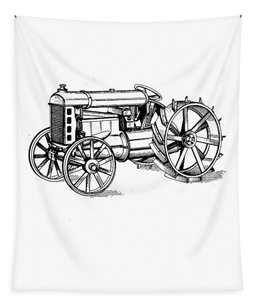 Tractor 1919 Henry Ford T-shirt Tapestry