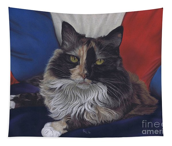 Tricolore Tapestry