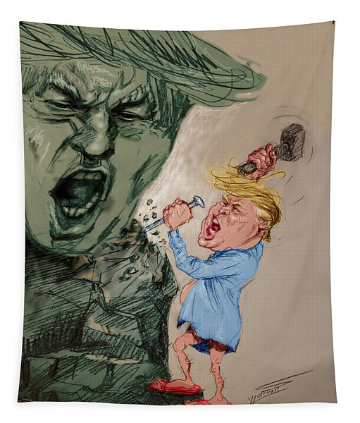 Trump Shaping The Future  Tapestry