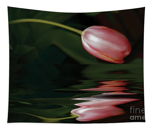 Tulip Reflections Tapestry