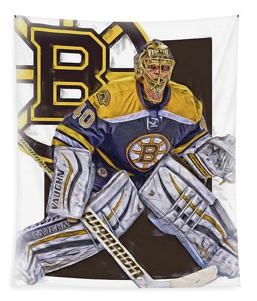 Tuukka Rask Boston Bruins Oil Art 1 Tapestry