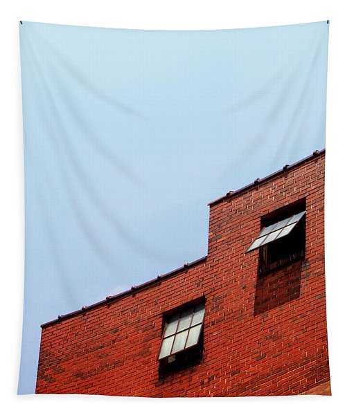 Two Open Windows- Nashville Photography By Linda Woods Tapestry
