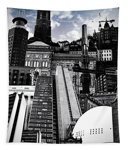 Urban Stockholm Tapestry